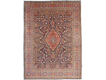 Tapis Fait Main Birdjand Signiert Mirkazemi 413x307 Beige/Rose (Laine, Perse/Iran)