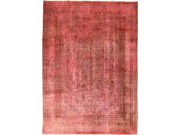 Tapis Vintage 335x238 Orange/Rose (Laine, Perse/Iran, Noué à la main)