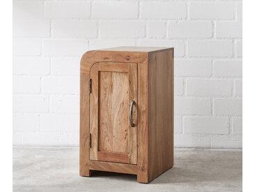 Caisson bureau Wally 40x48 cm acacia nature 2 portes