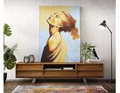 Peinture Young Woman multicolore 120x170 cm acrylique sur toile