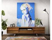 Peinture Butterflys multicolore 120x170 cm acrylique sur toile
