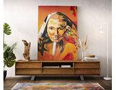 Peinture traditie multicolore 100x140 cm acrylique sur toile