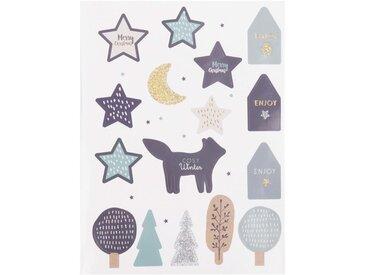 Stickers de Noël imprimé