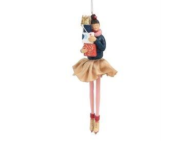 Suspension de Noël figurine multicolore