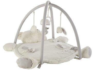 Tapis d'éveil bébé ourson en coton 70x90