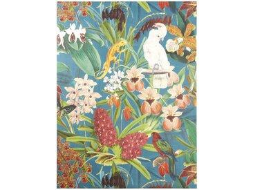 Toile peinte décor tropical 90x120