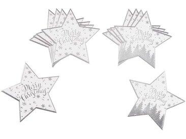 10 dessous de verre étoiles imprimés