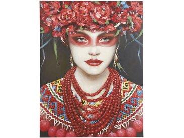 Toile peinte portrait 90x120