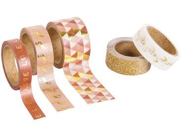 5 masking tape imprimés