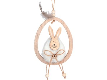 Suspension lapin assis sur uf