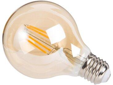 Ampoule à filament LED en verre teinté ambre