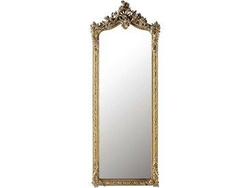 Miroir psyché en sapin doré 64x168