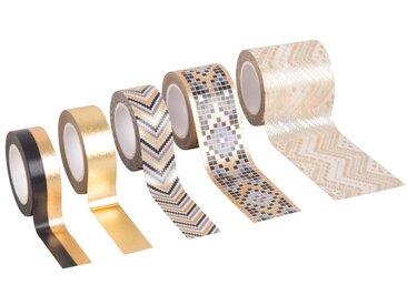 5 masking tape dorés