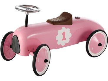 Porteur voiture en métal rose