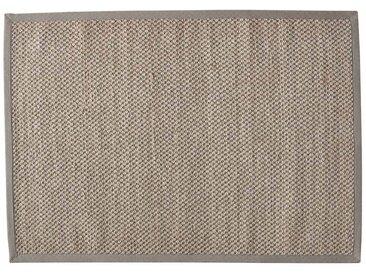 Tapis tressé en sisal beige 160x230 BASTIDE