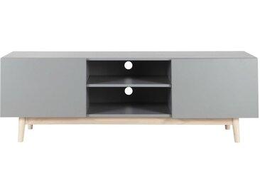 Meuble TV style scandinave gris Artic