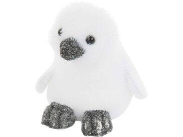 Statuette pingouin blanc H11