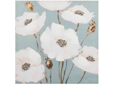 Toile imprimé floral 65x65