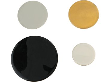 Patères en métal multicolore (x4)