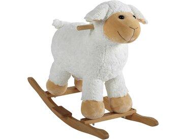 Mouton à bascule en bois H 60 cm POMPON