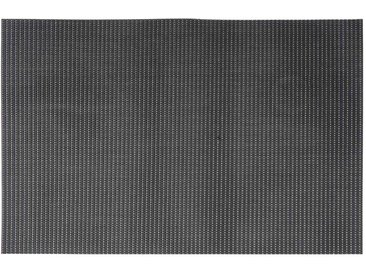 Set de table en PVC noir