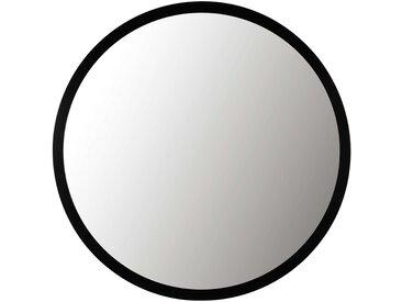 Miroir en métal noir D159