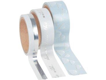 Masking tape argenté