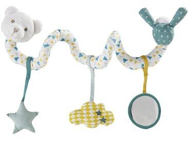 Spirale d'activités bébé ourson multicolore