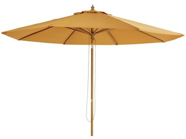 Parasol inclinable en aluminium et toile ocre Palma