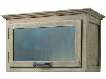 Meuble haut de cuisine ouverture droite en pin recyclé L60 Copenhague