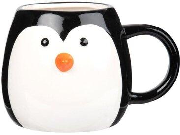 Mug pingouin en faïence