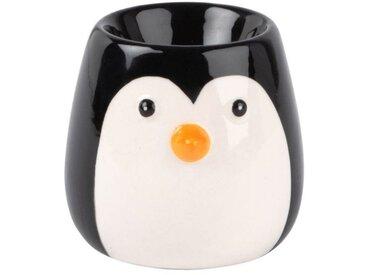 Coquetier pingouin en faïence