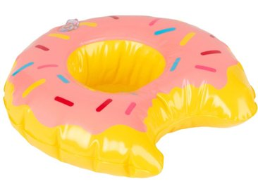 Porte-boisson bouée donut multicolore