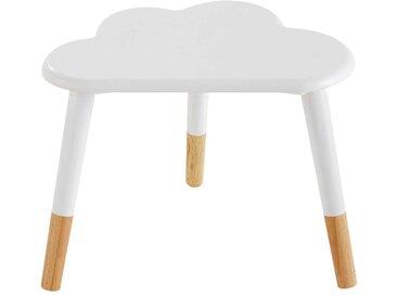 Table de chevet enfant nuage blanche Nuage