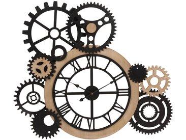 Horloge à rouages 79x68