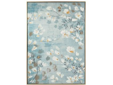Toile imprimé floral 63x90