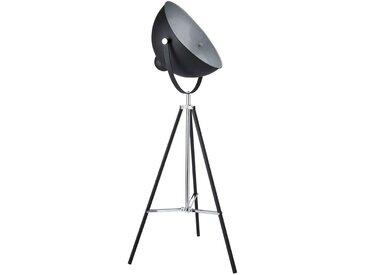 Lampadaire trépied en métal noir H 145 cm PHOTOGRAPHE