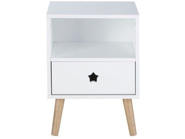 Table de chevet enfant blanche Dreams