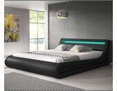 Lit coffre design Parisina – noir (180x200cm)