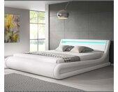 Lit coffre design Parisina – blanc (140x190cm)