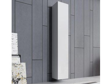 Armoire murale modèle Aitana O2 (30x180cm) couleur blanc