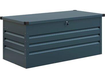 Coffre de jardin métal Store - 710L - 165 x 69 x 62 cm - Bleu gris