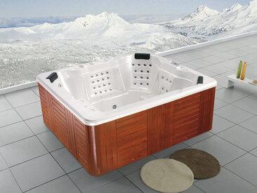 Spa Seychelles 7 places assises - système Balboa + Bluetooth intégré - 250x220x97 cm