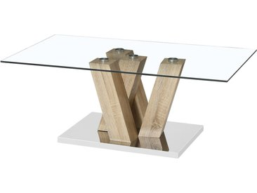 Table basse Gaya - 110 x 60 x 40 cm - Chêne