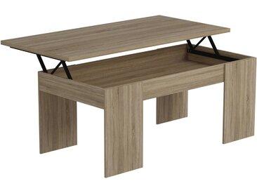 Table basse Diana - 100 x 50 x 43 cm - Chêne