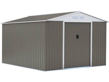 Abri de jardin métal Dallas - 15,16 m²