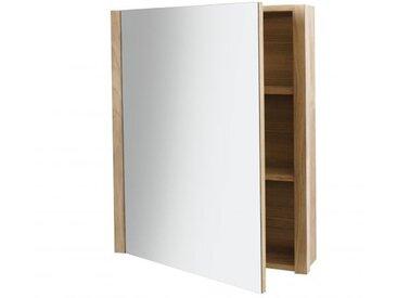 Armoire de toilette en chêne 65 x 80 cm