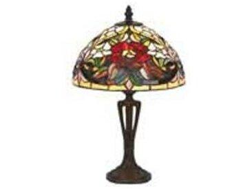 artistar Coquelicot Lampe style Tiffany 40cm