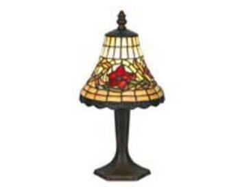 artistar Fleur lampe en verre style Tiffany