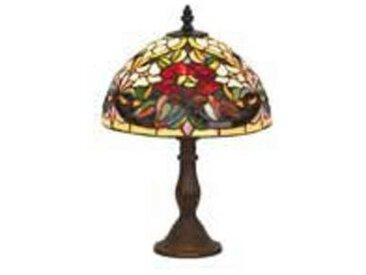 artistar Coquelicot Lampe style Tiffany 38cm